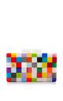 Pixel Plexiglas Clutch by URANIA GAZELLI Now Available on Moda Operandi