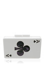 Double Sided Queen Of Clubs And Ace Of Clubs  Clutch by URANIA GAZELLI Now Available on Moda Operandi