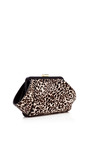 Posen Printed Haircalf Clutch by ZAC POSEN Now Available on Moda Operandi