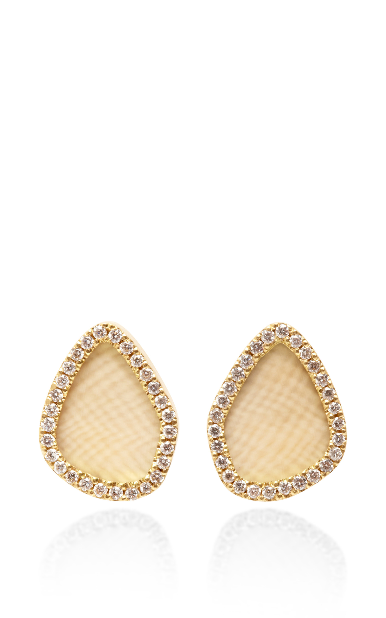 schwartz pave earrings son shop studs one stud atlantico diamond jewelry charles