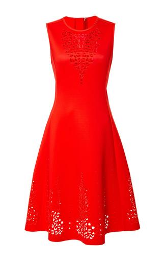 Medium clover canyon print laser a line dress