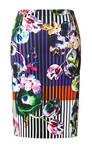 Medium clover canyon print night matador skirt