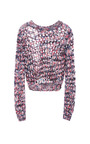 Open Weave Knit Sweater by MSGM Now Available on Moda Operandi