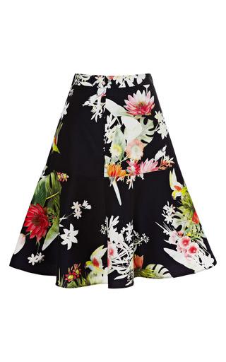 Medium clements ribeiro print flora rio print flip skirt