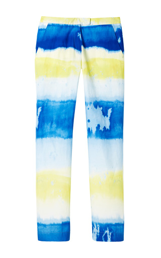 Medium msgm multi tie dye poplin trousers 2