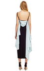 Casual Cotton Faille Sash Back Dress by ROSIE ASSOULIN Now Available on Moda Operandi