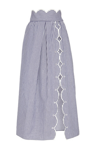 Medium alice mccall blue surreal skirt