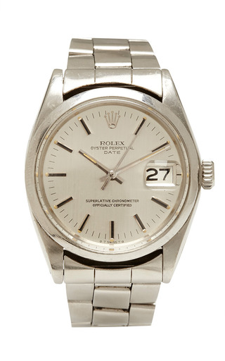 Medium vintage rolex watches silver vintage rolex stainless steel date with original box and papers