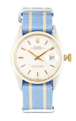 Medium vintage rolex watches blue vintage rolex stainless steel and 18k yellow gold datejust 2