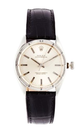Medium vintage rolex watches black vintage rolex stainless steel oyster perpetual watch 2