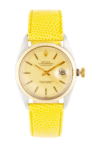 Medium vintage rolex watches yellow vintage rolex stainless steel and 18k yellow gold datejust