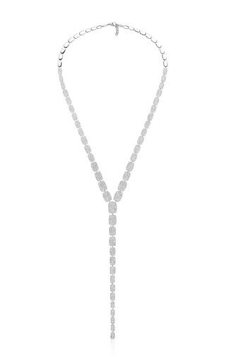Medium as29 white cascade necklace