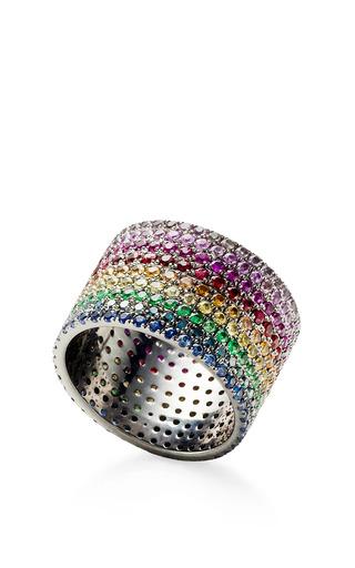 Medium as29 multi lana rainbow pinky ring