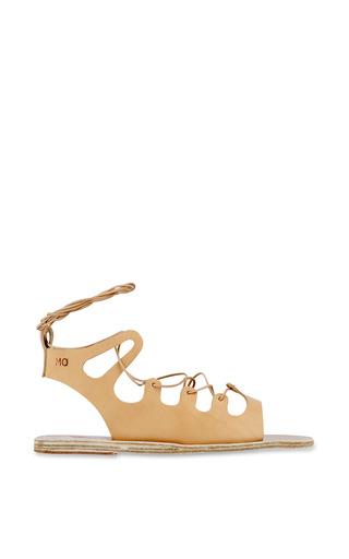 Antigone Sandal In Natural by ANCIENT GREEK SANDALS for Preorder on Moda Operandi