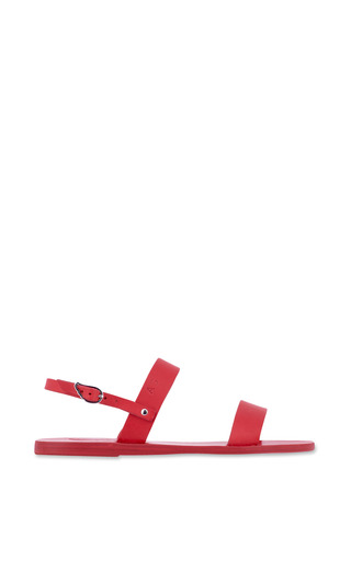 Medium ancient greek sandals red clio sandal in all red