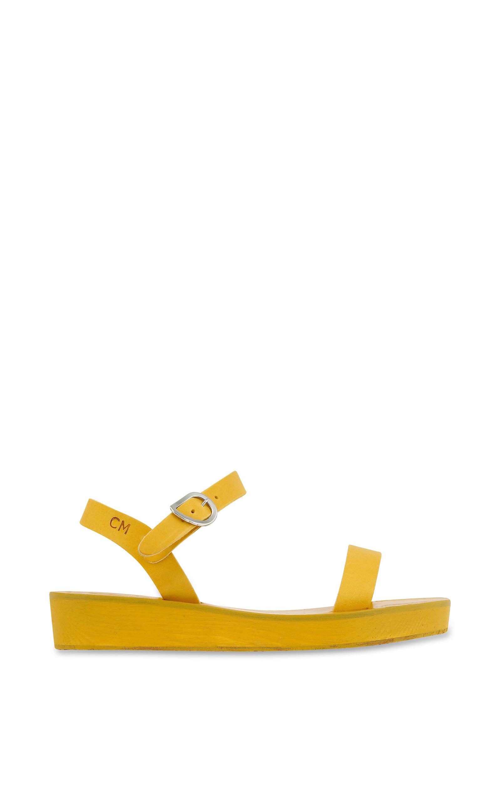 Sandal Drama Platform All In Yellow tshrQd