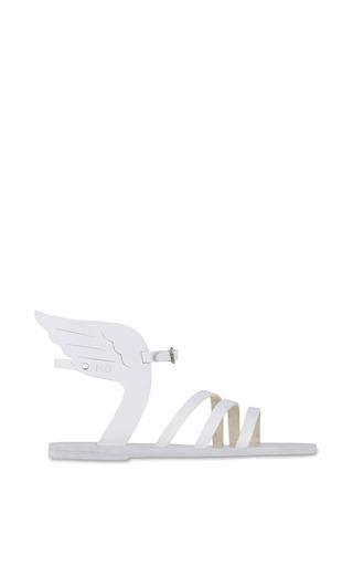 Medium ancient greek sandals white ikaria sandal in all white