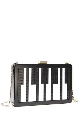 Medium les petits joueurs black les petits joueurs andy piano handbag