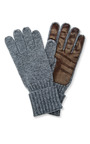 Men's Cashmere Gloves by INVERNI Now Available on Moda Operandi