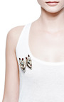 Vintage Coro Duette Horse Head Pin by CAROLE TANENBAUM for Preorder on Moda Operandi