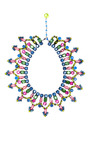 Vintage Vrba Multicolored Small Collar Necklace by CAROLE TANENBAUM for Preorder on Moda Operandi