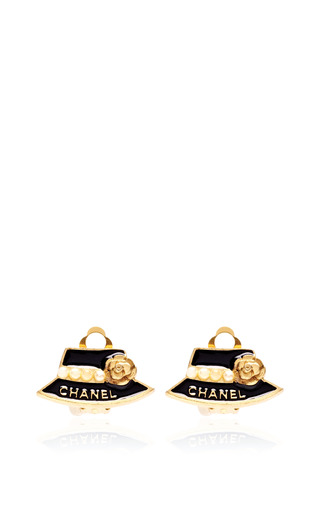 Medium_carole-tanenbaum-gold-vintage-chanel-black-hat-earrings
