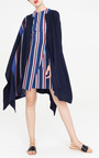 Stripe Weave Poncho by APIECE APART Now Available on Moda Operandi