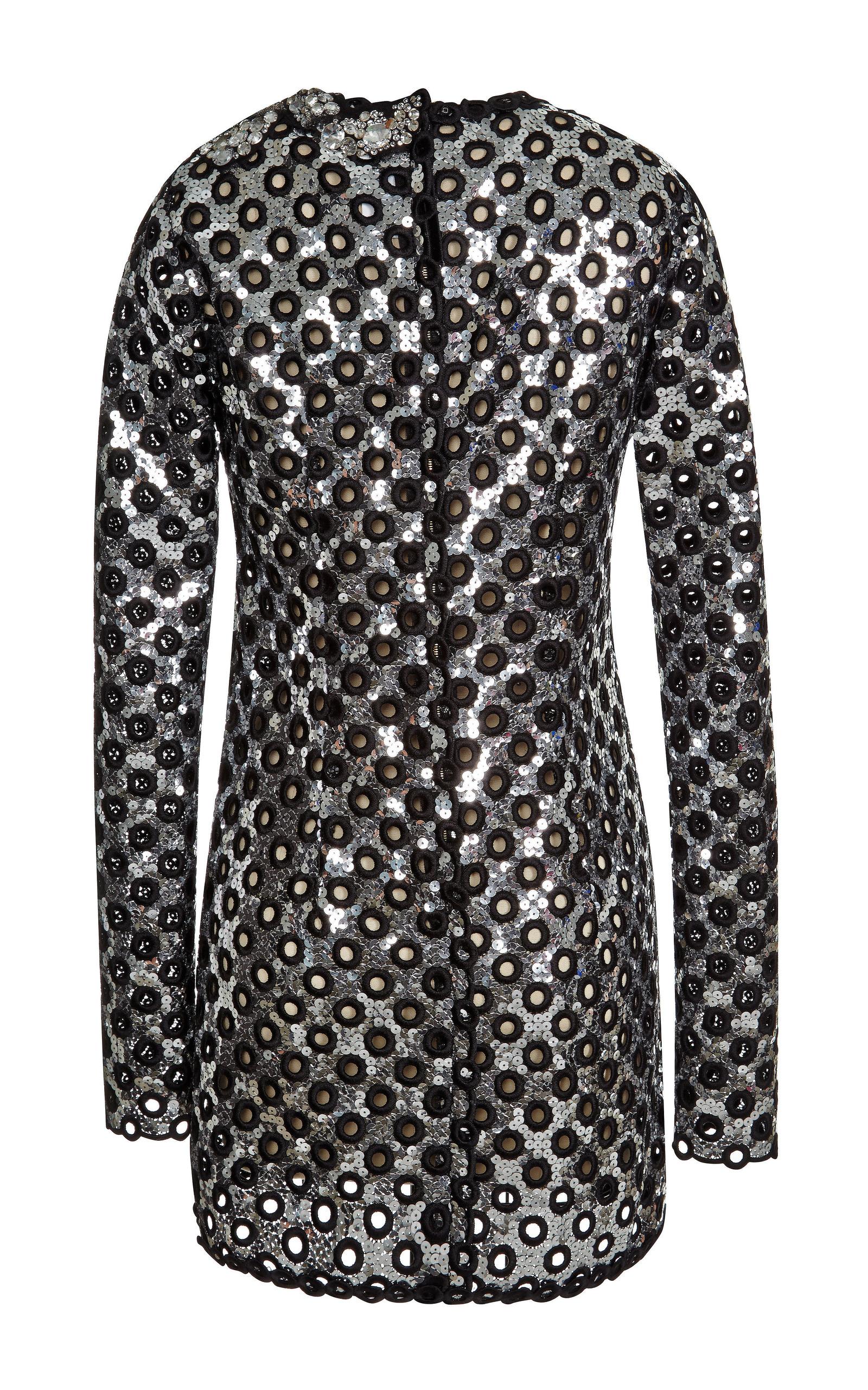 Oversized Sequin Dress