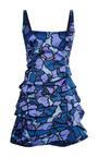 Purple Petal Chine Tank Dress by MARC JACOBS for Preorder on Moda Operandi