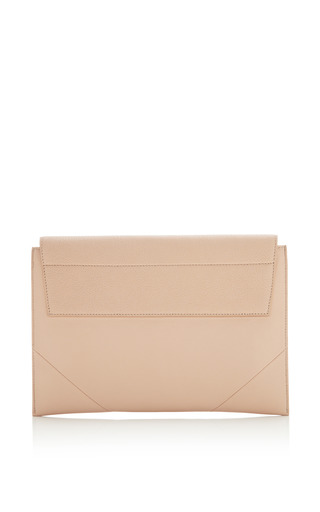 Ali Clutch In Nude Leather by NARCISO RODRIGUEZ for Preorder on Moda Operandi