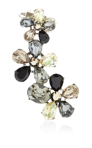 Fleur De Lis Earring Clip Earrings by VICKISARGE for Preorder on Moda Operandi
