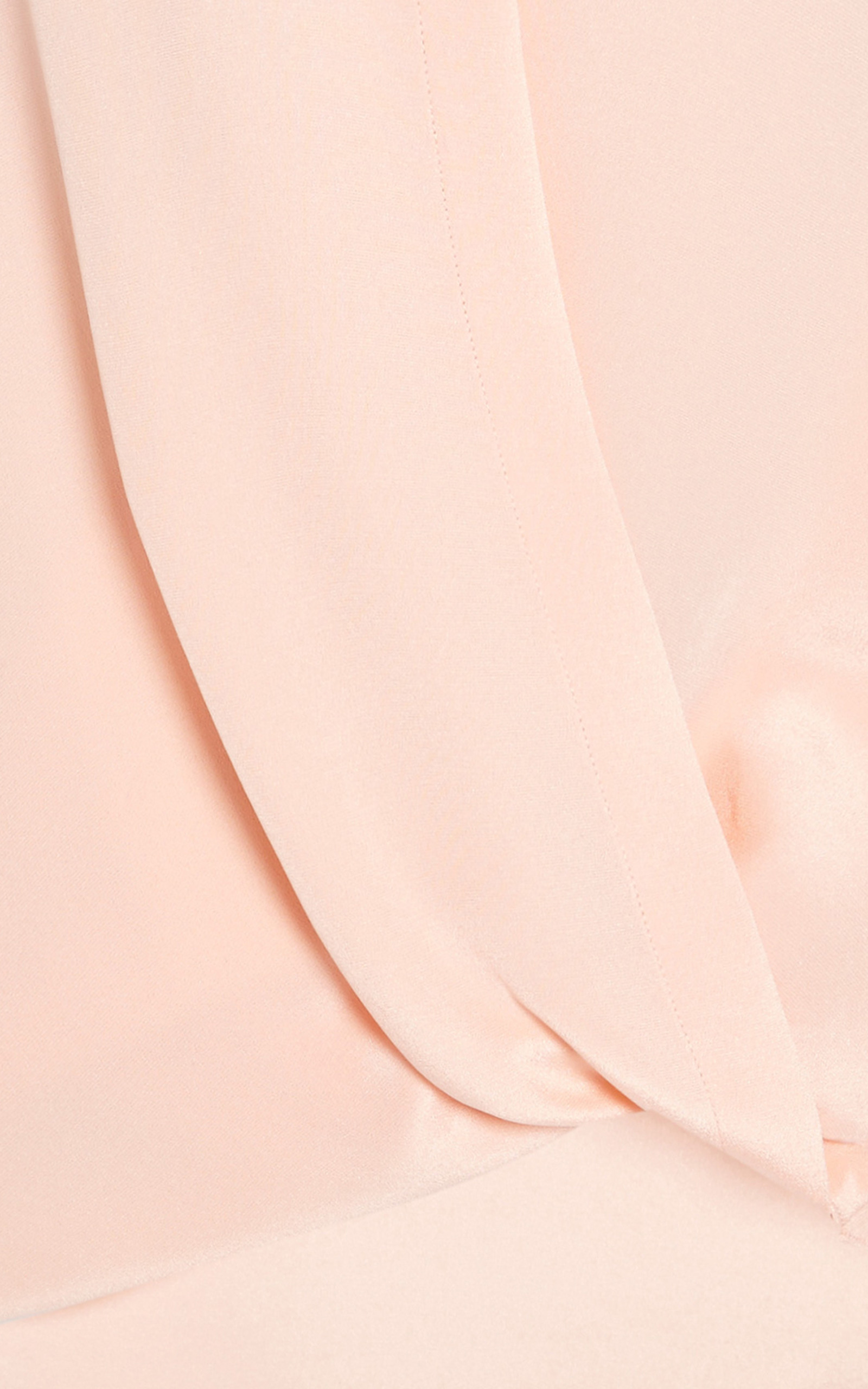69b951ba79214 3.1 Phillip LimSoftly Draped Blouse With Tucked In Collar In Peach Puff.  CLOSE. Loading. Loading