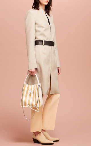Cropped Flared Pant In Soft Peach by 3.1 PHILLIP LIM Now Available on Moda Operandi
