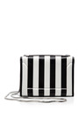 Soleil Mini Chain Shoulder Bag In Black And White by 3.1 PHILLIP LIM for Preorder on Moda Operandi