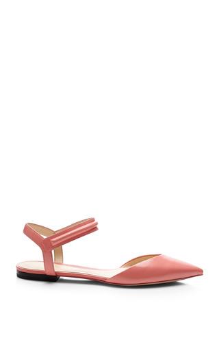 Medium 3 1 phillip lim pink martini flat pointy toe sandal in shell pink