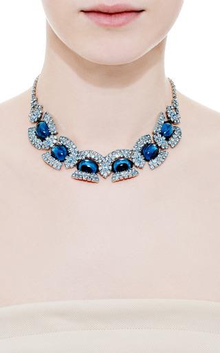Vintage Juliana Royal Blue Cabochon Necklace by CAROLE TANENBAUM for Preorder on Moda Operandi