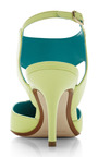 Cut Out Pump In Lime by NICHOLAS KIRKWOOD for Preorder on Moda Operandi