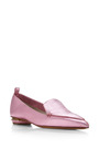 Botalatto Loafer In Pink by NICHOLAS KIRKWOOD Now Available on Moda Operandi