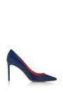 Nip Toe Pump In Navy by NICHOLAS KIRKWOOD for Preorder on Moda Operandi