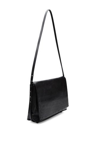 Boxer Leather Satchel by RICK OWENS Now Available on Moda Operandi