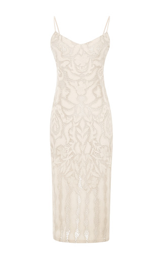 Medium wes gordon ivory natalia gown