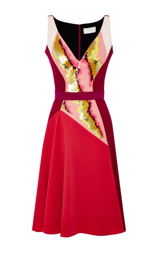 Medium peter pilotto pink current dress cerise