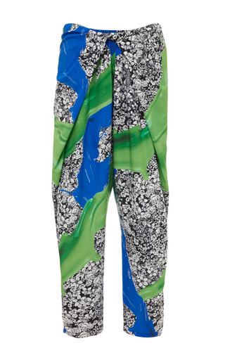 Medium clover canyon multi wallpaper splash pant