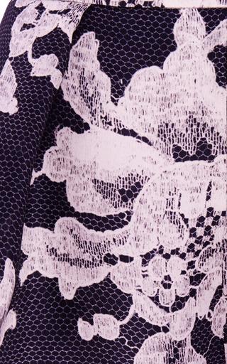 Lace Brocade Print Short by CAROLINA HERRERA for Preorder on Moda Operandi