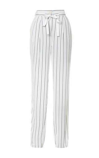 Medium tibi multi printed washed striped cdc jogging pants