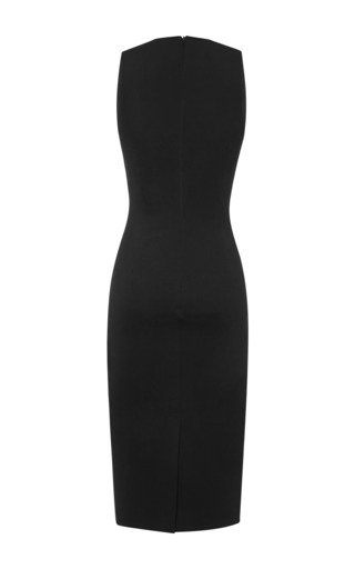 Oscar Jersey Black Dress by CUSHNIE ET OCHS for Preorder on Moda Operandi