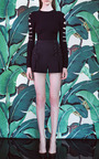 Rayon Viscose Knit Black Top by CUSHNIE ET OCHS Now Available on Moda Operandi