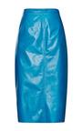 Leather Skirt by NINA RICCI Now Available on Moda Operandi