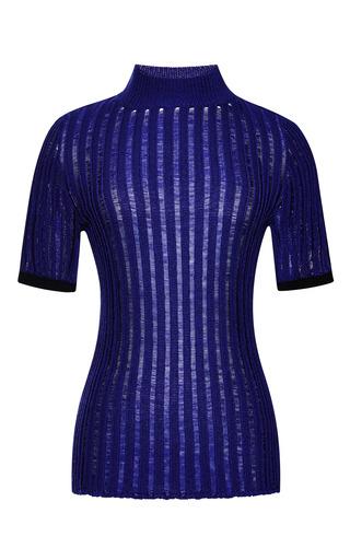 Medium nina ricci blue silk sweater