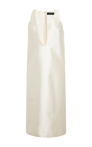 Medium ellery white ivory infinity dress
